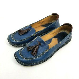 Born Tassel Slip On Loafer Shoes size US 7.5